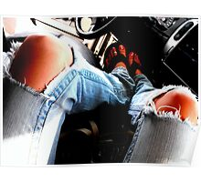 Nothin' like tight fittin' jeans! Poster