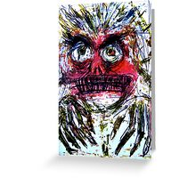Temper Temper! Greeting Card