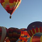 Balloon Fiesta 1 by June Tapia