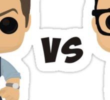Bruce vs Clark Sticker