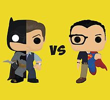 Bruce vs Clark by AnArielView