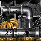 """Pumpkin Pipes 2"" by Steve Farr"