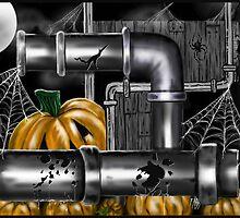 """Pumpkin Pipes 2"" by Steve Farr"