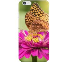 Great Spangled Fritillary 1-2015 iPhone Case/Skin