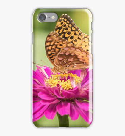 Great Spangled Fritillary 1-2015 iPhone Case/Skin