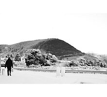 Solitary Man - Isle of Man Photographic Print