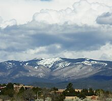 Santa Fe Mountains by June Tapia