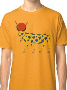 Hathor Cow   Egyptian Gods, Goddesses, and Deities Classic T-Shirt