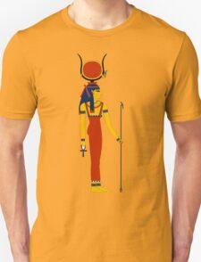 Hathor Solar   Egyptian Gods, Goddesses, and Deities Unisex T-Shirt