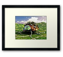 Carry That Weight Framed Print