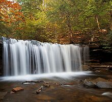 Oneida Falls (Autumn) by Tim Devine