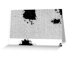 PRINT – Halftone screen 2 Greeting Card