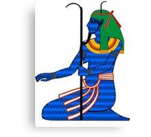 Heh as Chaos | Egyptian Gods, Goddesses, and Deities Canvas Print