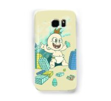 Babyzilla's Path of Destruction Samsung Galaxy Case/Skin