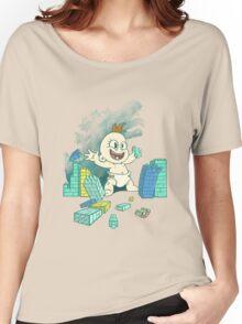Babyzilla's Path of Destruction Women's Relaxed Fit T-Shirt