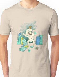 Babyzilla's Path of Destruction Unisex T-Shirt