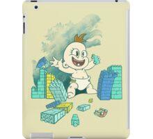 Babyzilla's Path of Destruction iPad Case/Skin