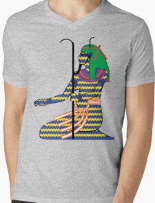 Heh as Chaos [FRESH Colors]   Egyptian Gods, Goddesses, and Deities Mens V-Neck T-Shirt