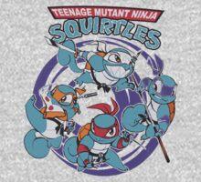 Teenage Mutant Ninja Squirtles One Piece - Short Sleeve