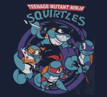 Teenage Mutant Ninja Squirtles One Piece - Short Sleeve