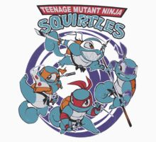 Teenage Mutant Ninja Squirtles Baby Tee