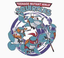 Teenage Mutant Ninja Squirtles One Piece - Long Sleeve
