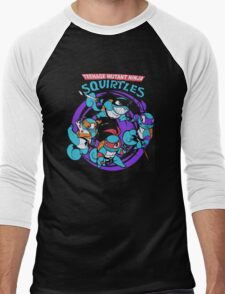 Teenage Mutant Ninja Squirtles Men's Baseball ¾ T-Shirt