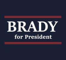 Brady for President Kids Tee