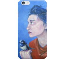 A little Bird told me. iPhone Case/Skin