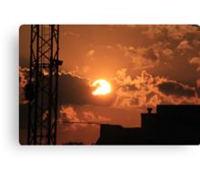 Talladega Sunset Canvas Print