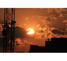 Talladega Sunset Photographic Print