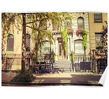 Charming East Village Brownstone - New York City Poster