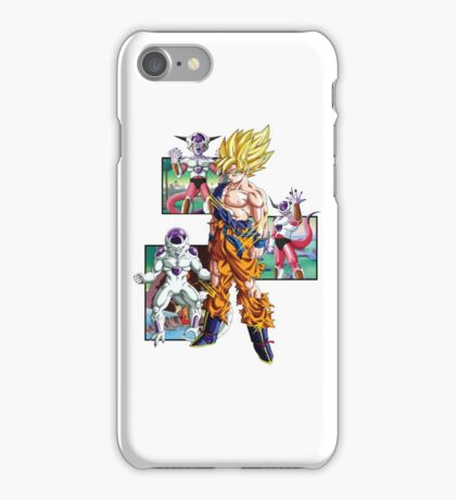 Goku Vs Frieza Phone Case iPhone Case/Skin