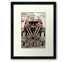 Morgan Super Sport Beetle back 1935 Framed Print
