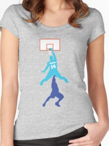 Danny Green Dunk Women's Fitted Scoop T-Shirt