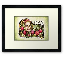 Jessie of May Framed Print
