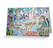 The Artist Guild Luncheon Greeting Card