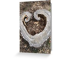 Hearts in Nature Greeting Card