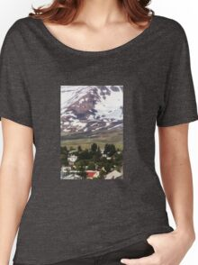 Icelandic Town Women's Relaxed Fit T-Shirt