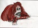 Orangutan Mona Lisa by WoolleyWorld