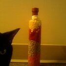 jealous cat wants to be in the shot! by catnip addict manor