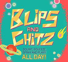 Blips and Chitz // Rick and Morty by JayLenosChin