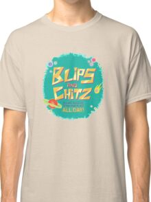 Blips and Chitz // Rick and Morty Classic T-Shirt
