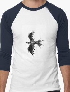 Inkblot bird T-Shirt