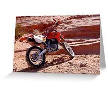 Honda 650 Greeting Card