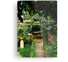 Garden Rooms Metal Print