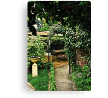 Garden Rooms Canvas Print