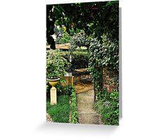 Garden Rooms Greeting Card