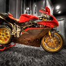 MV Agusta Art - HDR by clydeessex
