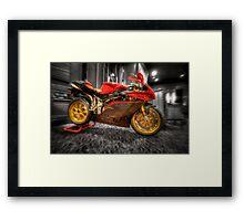 MV Agusta Art - HDR Framed Print